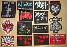 LOUDNESS MEDIEVAL STEEL SORTILEGE MYSTIC FORCE METAL CHURCH Embroidered PATCH
