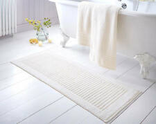 Extra Long Bath Mat Home Bathroom Thick Towelling Cotton