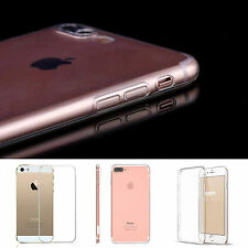 Thin Transparent Clear TPU Silicone Soft Case Gel Skin Cover For iPhone 7 7Plus