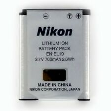 New EN-EL19 Nikon Original Battery Coolpix S2500 S2550 S3100 S3300 S4100 S4300