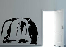 Animal Wall Stickers Penguin Shame Vinyl Decal 15 Colours 00082