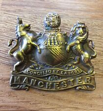 WW1 Manchester Regiment Pals Cap Badge