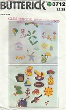 Butterick 3712 Transfer Applique and Embroidery Package   Sewing Pattern