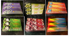BOXES OF PREMIUM QUALITY INCENSE STICKS VARIOUS SCENTS TO CHOOSE FROM