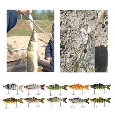 Minnow Fishing Lures Crank Bait Hooks Bass Crankbaits Tackle Sinking Popper D3J5