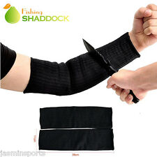 Cut Proof Armband Protective Gloves Steel Wire Arm Elbow Guard Bracers Glove Set