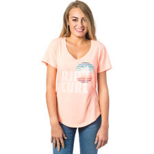 Rip Curl Sun And Surf Womens T-shirt - Souffle All Sizes