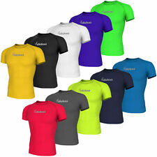 Didoo Men's Short Sleeve Compression T-shirts Fitness Tops Training Base Layers