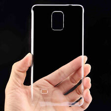 Ultra Thin Glossy Transparent Crystal Hard Rigid Plastic PC Case Cover For Phone