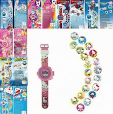 Kids Watches Digital Wrist Watches Automatic Projector Childrens Toys New Gifts