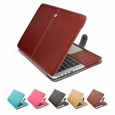 """PU Leather Sleeve Bag Case Cover for Macbook Air Pro Retina 11/12/13/15"""" Inch"""