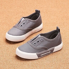 2017 Children Sports Shoes Girls Boys Canvas Shoes Slip-On Casual Shoes Sneakers