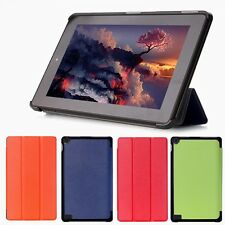 For Amazon Kindle 7 2015 Tablet Fire HD Folding Folio Leather Stand Cover Case