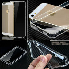 New Ultra Thin Silicone Gel Slim Rubber Case Compatible Iphone5/5s {fu32