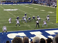 2 Indianapolis Colts season tickets for 2017 season Section 101 Row 16