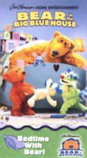 Bear in the Big Blue House - Bedtime Plus Night Volume 8 (VHS, 1999) RARE