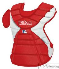 "Wilson MLB Pro Stock Hinge FX baseball catchers gear chest protector Red16"" 3300"