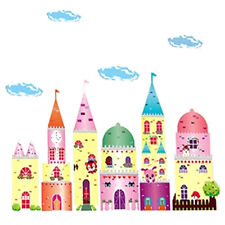 DIY Home Dream Tower Castle Wall Art Decor Sticker Decal Mural Removable P4F5
