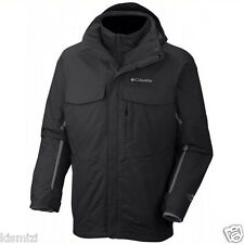 "New Mens Columbia ""Bugaboo"" 3in1 Omni-Tech Interchange Winter Jacket Coat Parka"