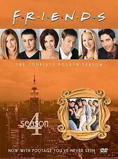 Friends - The Complete Fourth Season (DVD, 2003, 4-Disc Set, Four Disc Set)