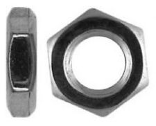 Hexagon Hex Thin Half Lock Nuts Stainless Steel A2 Metric Coarse Pitch Din 439