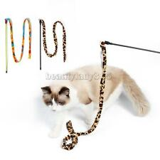 MagiDeal Pet Dog Kitten Cat Teaser Toys Dangler Wand Chaser Interactive Play Toy
