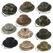 Combat Camo Army Military Boonie Bush Jungle Sun Hat Outdoor Hiking Fishing Cap