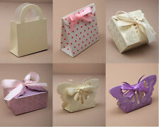 12 WEDDING FAVOUR GIFT BOXES JEWELLERY FLAT PACKED  PARTY GIFTS