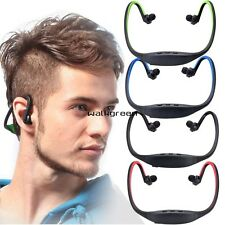 Sport Wireless Bluetooth Stereo Headphone Headset Earphone For iPhone/ PC WN