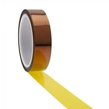 Ultra High Temp Polyimide Tape 5mm,12.7mm,25.4mm,30mm,50mm PCB Masking, Coating