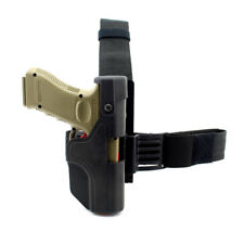 Tactical Auto Loading Holster Level 3 Lock Drop Leg Thigh Pistol Holster FOR G17