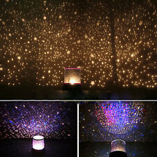 Romantic LED Starry Night Sky Projector Lamp Gift Home Cosmos Star Light Master