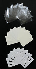 Pack of 100- Bespoke Mounts / Picture Mounts / Frame Mounts + Backs + Clear Bags