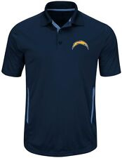 Los Angeles Chargers NFL Mens Cool Base Performance Polo Shirt Big & Tall Sizes