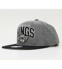 Mitchell and Ness LOS ANGELES KINGS Snapback Cap Grey / Black Arch Jers