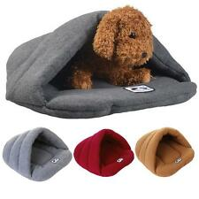 Puppy Pet Cat Dog Nest Bed Soft Warm House Puppy Kitten Cave Sleeping Bed Pad