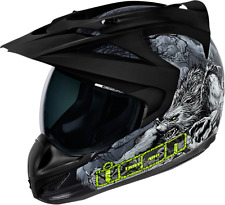 ICON VARIANT HELMET THRILLER BLACK MD MEDIUM 0101-7287 FREE SHIPPING
