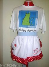 1/2 PERSONALISED PINK RIBBON BREAST CANCER CUPCAKE APRON Suit Bridal showers