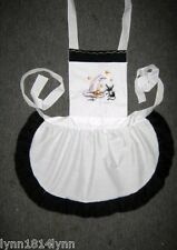 LADIES KIDS HALLOWEEN COSTUME APRON Made to Order featuring many tops