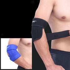 MagiDeal Sports Spring Elbow Pad Adjustable Bandage Brace Gym Arm Sleeve Support