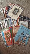 VARIETY CROSS STITCH BOOKS AND PATTERNS 16 TO CHOOSE