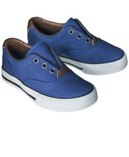 Toddler Boys Blue Holden Laceless Shoe by Cherokee Size 7 or 8 NWT!