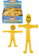Stretch & Smile Man kid birthday Party Loot Bag Children Toy Stocking Filler