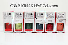 CND Shellac UV LED Gel Nail Polish RHYTHM & HEAT Collection 7.3ml .25oz Pick ANY
