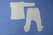 NWT Organic unbleached cotton baby pajamas 0, 3, 6, 12, 18, 24 months Toddler