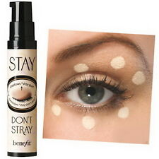 100% Authentic BENEFIT Stay Don't Stray 360 Eyeshadow Primer FULL & TRAVEL Size