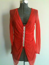 CHELSEA STUNNING 100% SILK Embellished TOP RRP:$239.99  Choose size NWT**
