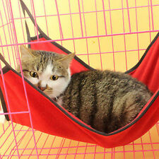 HOT Cute Pet Cat Dog Cage House Hammock Soft Bed Animal Hanging Pupply Ferret YY
