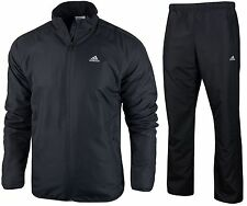 ADIDAS CLIMAWARM MENS FULL ZIP TRACKSUIT TRACK JACKET & PANTS WARM FLEECE POLAR
