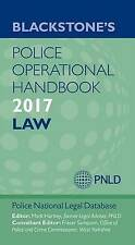 Blackstone's Police Operational Handbook 2017 Edition New Paperback Book by PNLD